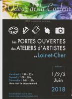 PORTES OUVERTES DES ATELIERS D'ARTISTES EN LOIR ET CHER , RICHARD Gabriel